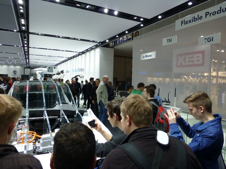 Interessante Exponate bei VW