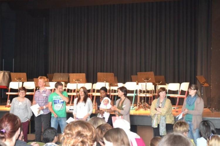 Nach der Begüßung wurden die zukünftigen Klassenlehrer vorgestellt.