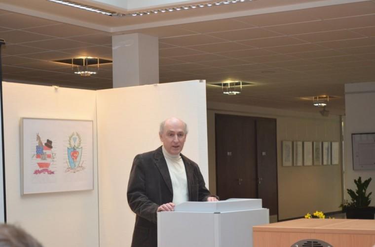 Feierliche Verabschiedung von Joachim Reisberg