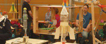 """""""freestyle physics 2014"""": Wasserraketenwettbewerb"""
