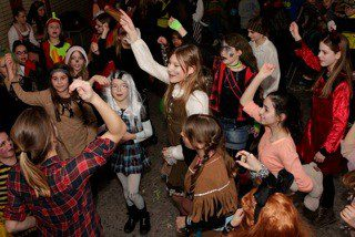 Kostümfest der Jahrgangsstufe 5 - 2015