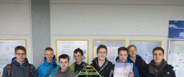 Papierbrückenwettbewerb - 2015