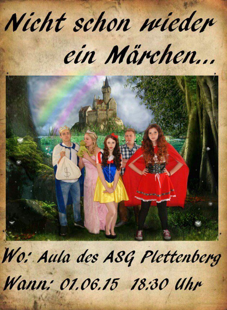 """Literaturaufführung """"Nicht schon wieder ein Märchen"""""""