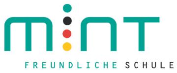 MINT-Logo - MINT freundliche Schule