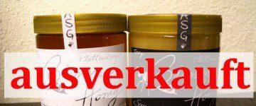 Plettenberger Bienenhonig restlos ausverkauft!