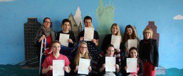 Schülerinnen und Schüler der Q2 erwerben das CAE-Examen