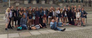 Tagesexkursion der Klassen 9c/E nach Berlin