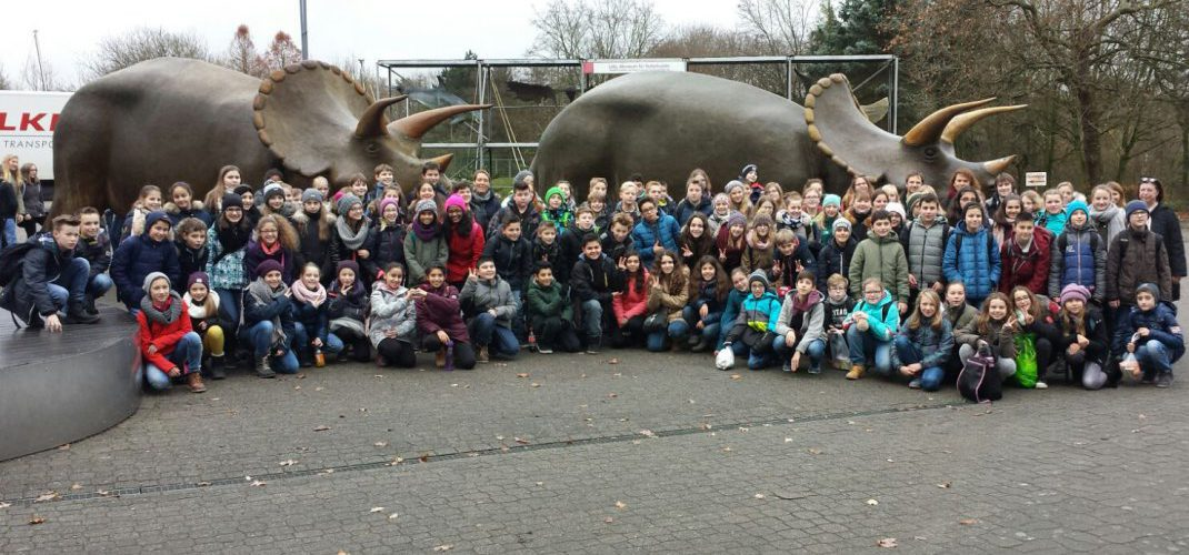 Jahrgangsstufe 6 auf Klassenfahrt in Münster