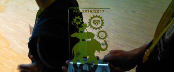 """Das ASG gewinnt die Teildisziplin """"Teamwork"""" bei der First Lego League!"""