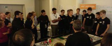 """Robotik-AG zu Gast bei """"Hands On Technology"""""""