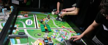 """Erfolgreiche Teilnahme an der """"First Lego League"""""""