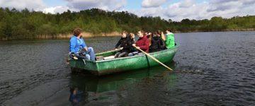 """Das Heilige Meer bei """"bestem Aprilwetter"""" - Exkursion Leistungskurs Biologie"""