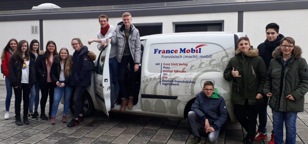 Das Francemobil am ASG