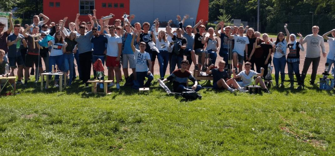 """8. Plettenberger Wasserraketenmeisterschaft und """"freestyle-physics"""" in Duisburg"""