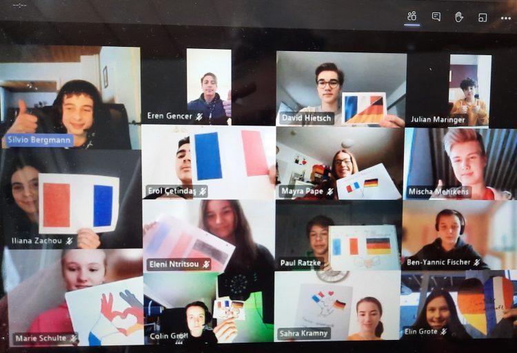 ASG Teilnahme am Internet-Teamwettbewerb des Institut Français