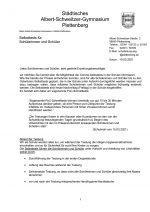 Elternbrief 19 Mrz 21: Selbsttests für Schülerinnen und Schüler