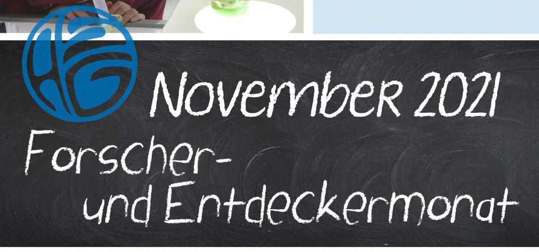 Forscher- und Entdeckermonat November am ASG